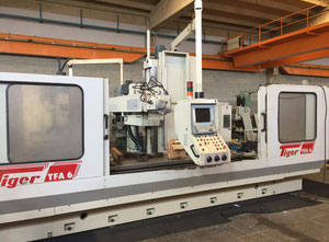 Tiger TFA 6 cnc vertical milling machine