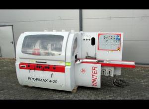 Winter Profimat 4-20 Gebrauchte Mehrkopf-Kehlmaschine