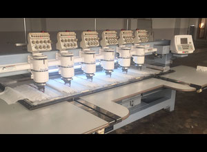 Barudan  multi-heads embroidery machine