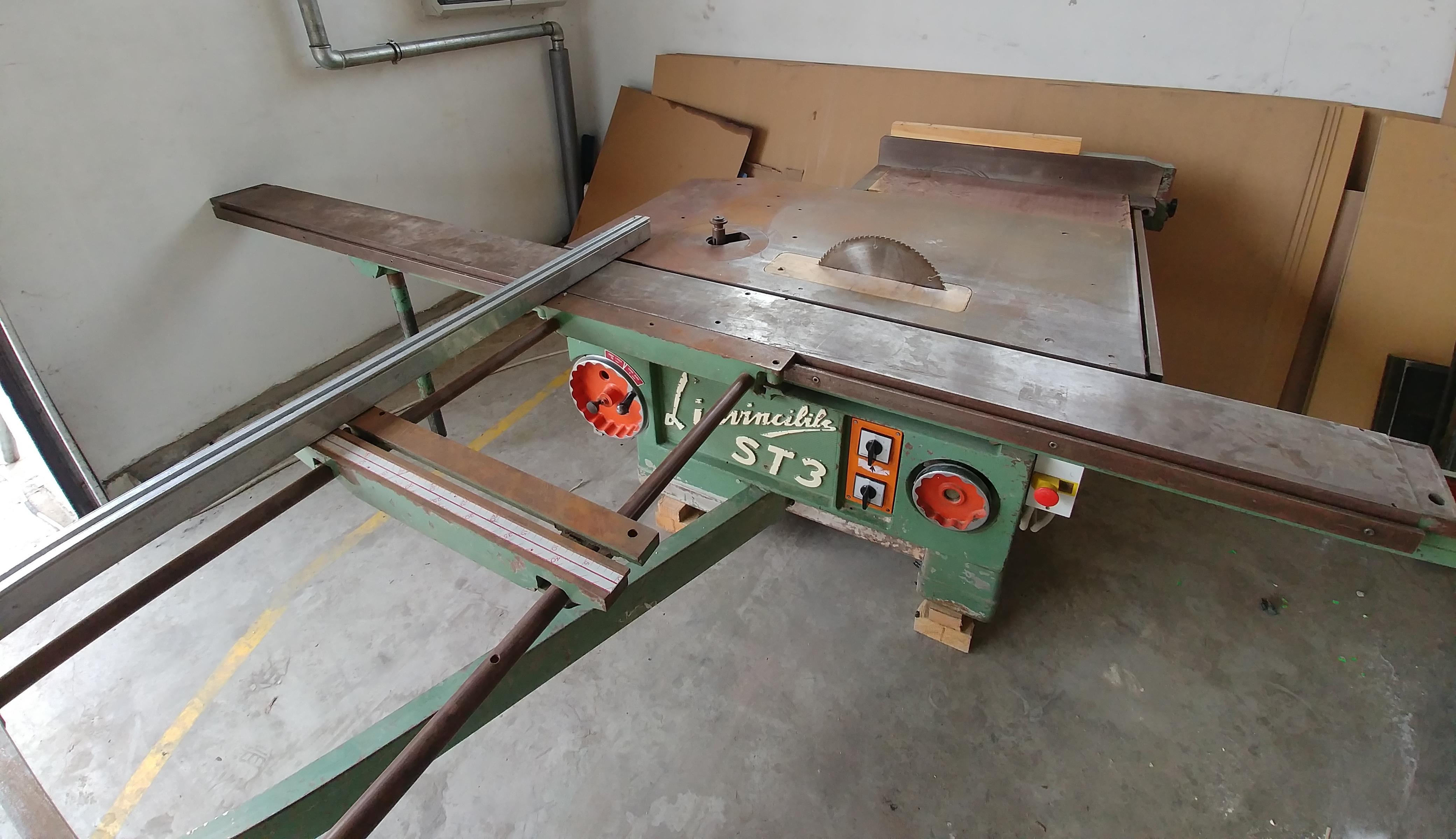 Fresadora de madera scm st3 maquinas de segunda mano exapro - Fresadora de madera ...