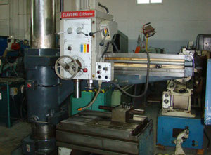 Clausing Colchester 8400 Radial drilling machine