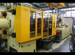 HUSKY H300 RS80/70 Used Injection moulding machine (all electric)