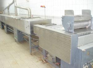 Ligne pour la production de bâtonnets salés