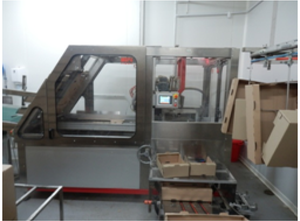 Meca System BTM 602 Case packer