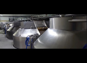 Used Bertsch and Schwarte Double-O Cheese Vats 12.000 l