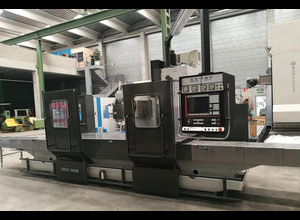 Zayer 20KF-3000 cnc horizontal milling machine