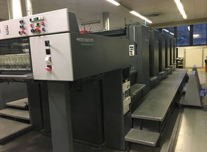 Offset six couleurs HEIDELBERG SM102-6P23