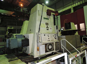 Module ZFWZ2000 x 20/II Horizontal gear hobbing manual machine
