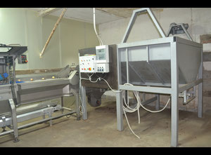 Sormac USM - S100 Vegetable and fruit cutting, washing and blanching machine