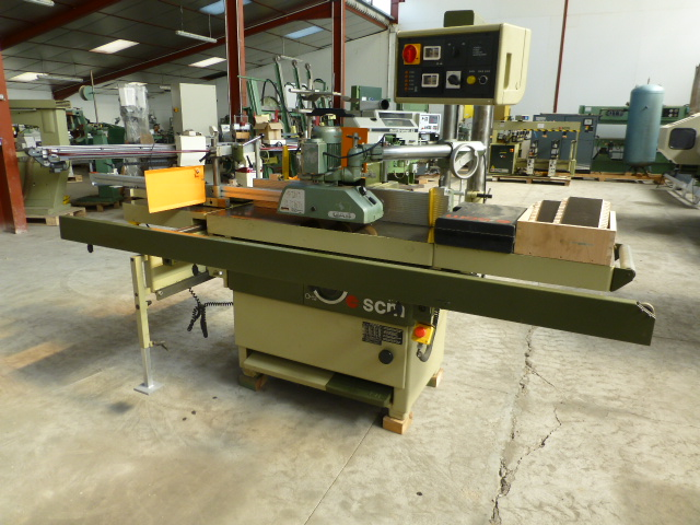 used scm t130nll t tenoning machine exapro
