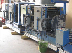 Used Rotatek MP 150 Web continuous printing press