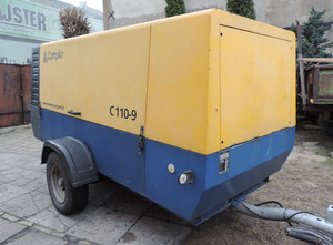 Compair C110-9 High pressure compressor