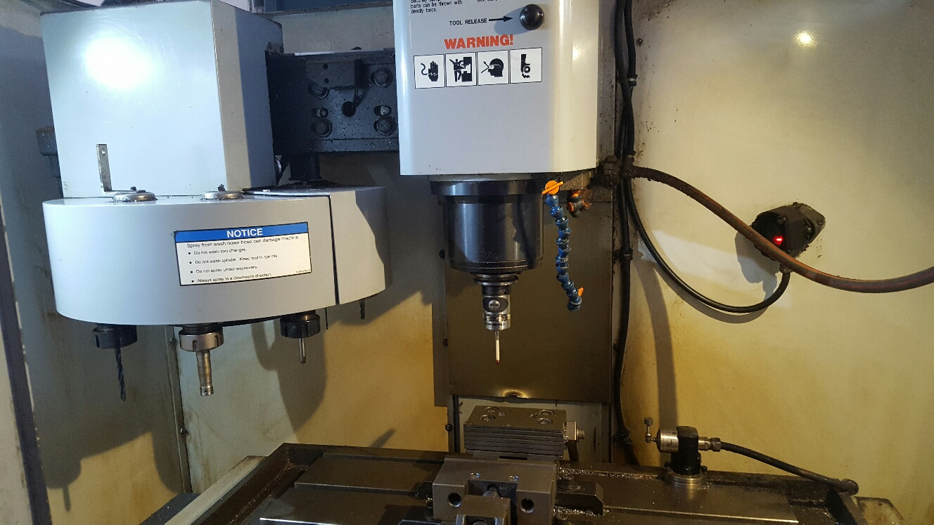 Haas Mini Mill He Cnc Vertical Milling Machine Exapro