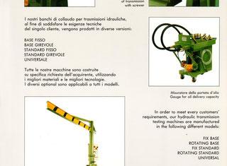 Chiarlone Offcine Banco de pruba P80219059