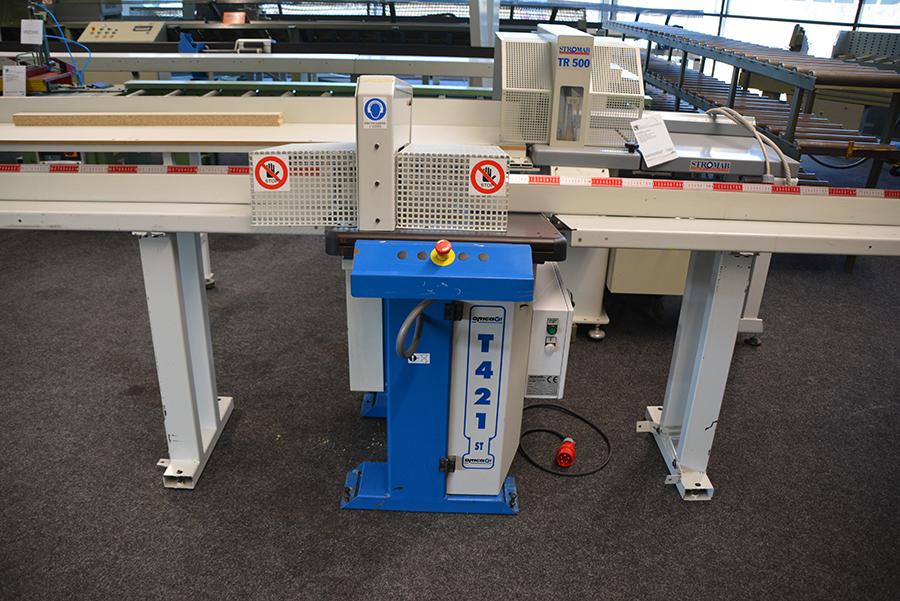 Omga T421 Used cross-cut optimizing saw - Exapro