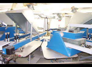 Used Tek-Ind Alfa 6/14 Screen printing machine