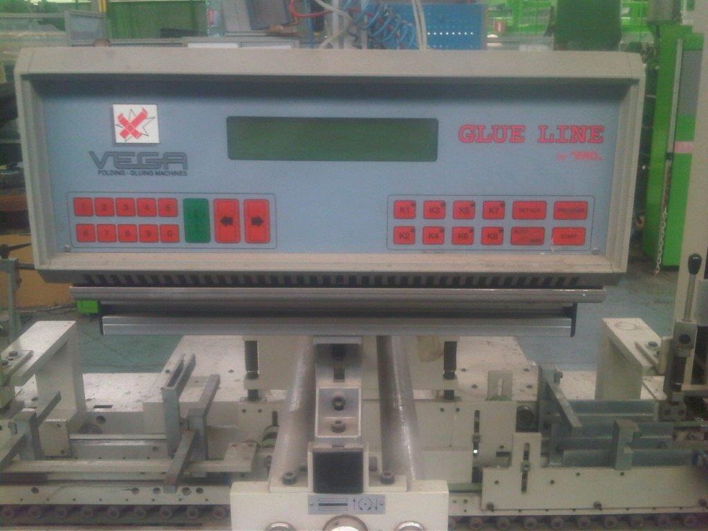 Used Vega Pegaso 110 Folding Machine Box Folding And