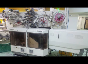 Theegarten Pactec WHF-EFC Candy cut and fold wrap machine