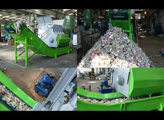 Single Shaft Shredder 520/1350 P80222011