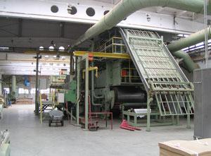 Linia produkcyjna firmy BISON-SYSTEM do produkcji płyt wiórowych