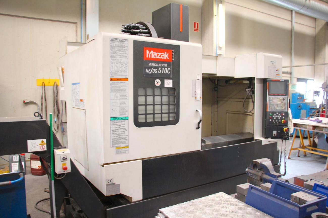 Mazak nexus 510c Manual