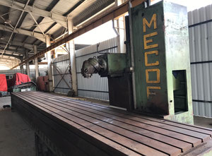 Mecof 10000 X 1200 mm Horizontal milling machine