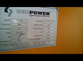 Genpower GP 1125 P80228155