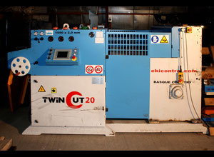 Ekicontrol S.L TWINCUT20DM10 Slitting line
