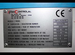 Ekicontrol S.L TWINCUT20DM10 P80312040