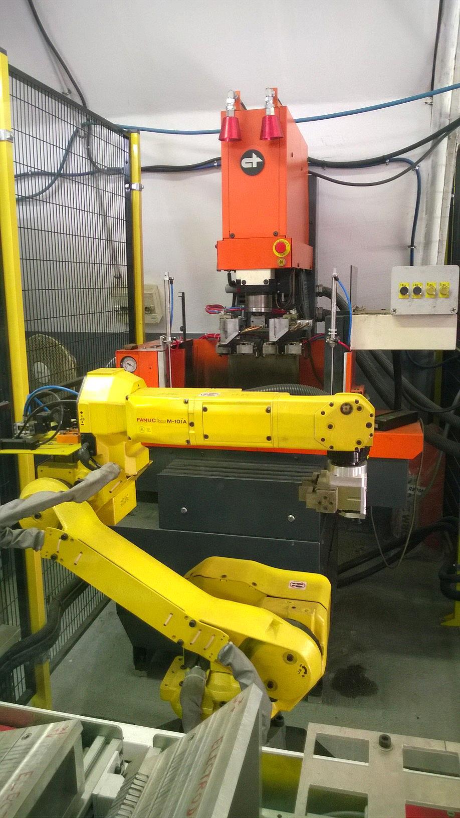 Manual Robot fanuc m10ia