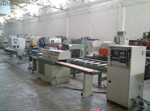 OMGA T 520 NC Used cross-cut optimizing saw