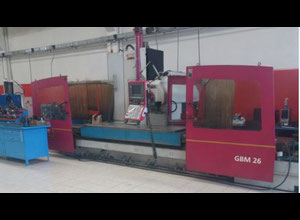 Lagun GBM 26 cnc horizontal milling machine