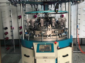 Santoni Mecmor CMP circular seamless  knitting machine