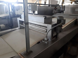 Used Meincke Cracker line for producing cracker, cookies or biscuits.