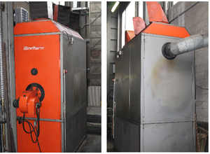 BLOWTHERM IHAR 500 Compressed air plant