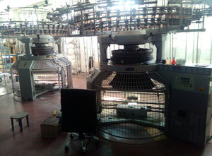 Jiunn Long  Circular knitting machine