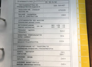 Gildemeister GS 36-6 AC P80404023