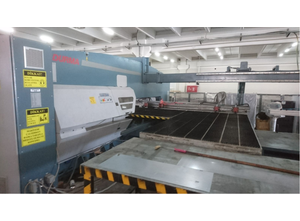 Durma TPL 63 Punching machine / nibbling machine with CNC