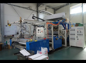 Machine for the production of LLDPE stretch film.