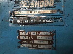Skoda W200H Tischbohrwerk