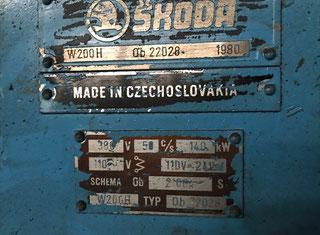 Skoda W200H P80407013