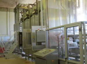 Used Mecatherm Baguette line Complete bread production line