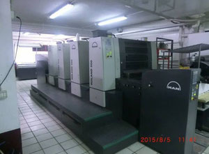 MAN Roland 504 OB 4 Farben Offsetdruckmaschine