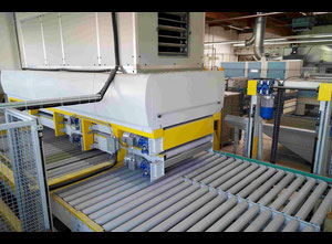 Giardina W.F.Strasse 1300 Glass washing / coating and printing machine