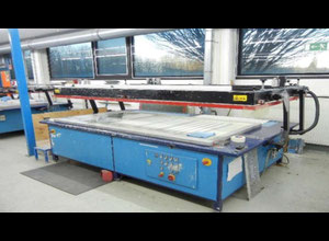 Eickmayer SP-A 100/200 Glass washing / coating and printing machine