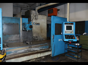 Used CME BF-02 cnc vertical milling machine