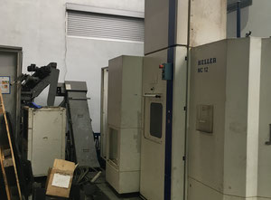 Heller MC12 cnc horizontal milling machine