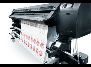 HP Latex L28500 Rotary textile printer