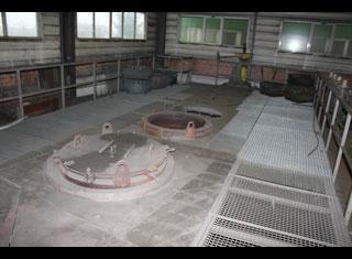 Underground heat treatment furnace -- P80502042