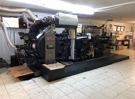 Kopack 250 Label Printing Machine Exapro